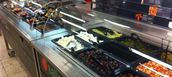 ICA har bra alternativ för att plocka ihop sin egna lunch med lågt kolhydratsintag